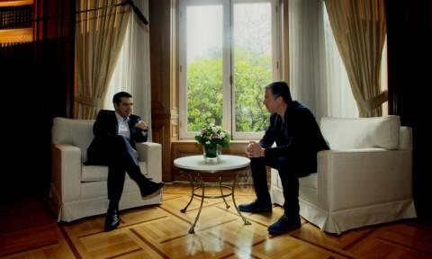 Ενημέρωση από τον Τσίπρα για τις διαπραγματεύσεις ζητά ο Θεοδωράκης