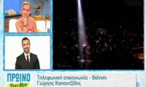 Eurovision: Τι αποκάλυψε ο Καπουτζίδης για τα φαβορί, τις εκπλήξεις στις πρόβες και τη Μαρία Έλενα