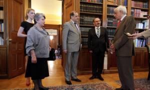 Παυλόπουλος: Υποδέχτηκε αντιπροσωπεία των απόδημων Θεσσαλών