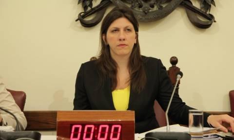Κωνσταντοπούλου: Δεν θα κάνουμε τη χάρη στον Πρετεντέρη και το Mega
