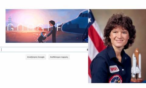 Sally Ride: Η Google τιμάει την 64η επέτειο της γέννησής της (pics)