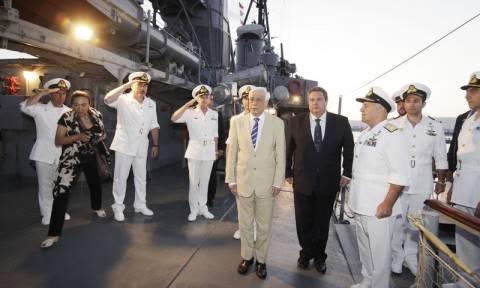 Παρουσία του ΠτΔ και του υπουργού Άμυνας η εκδήλωση της επετείου του Κινήματος του Ναυτικού (pics)