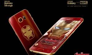Samsung Galaxy S6 Edge Iron Man Limited Edition. Επίσημη πρεμιέρα! (video)