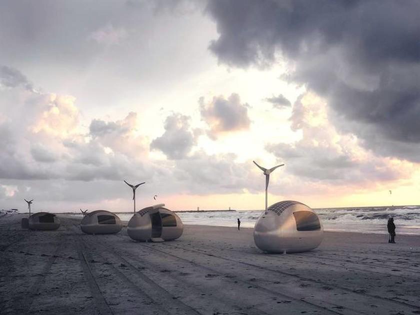 Ποιο τροχόσπιτο; Ηρθαν τα Ecocapsules (photos)