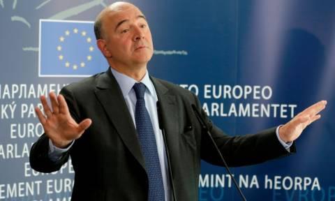 Μοσκοβισί: Οι ελληνικές διαπραγματεύσεις πρέπει να επιταχυνθούν