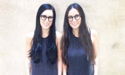 Κουίζ για δυνατούς λύτες: Νομίζετε ότι είναι η Demi Moore με τη δίδυμη αδερφή της; Όχι!