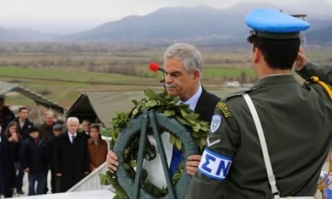 Ο Τόσκας στην εκδήλωση Τιμής και Μνήμης για την Γενοκτονία των Ελλήνων του Πόντου