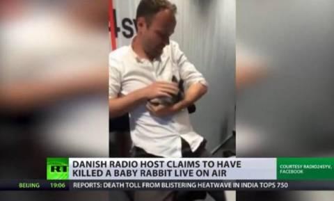 Αποκρουστικό: Ραδιο… φονικός παραγωγός σκότωσε κουνελάκι στον αέρα! (video)