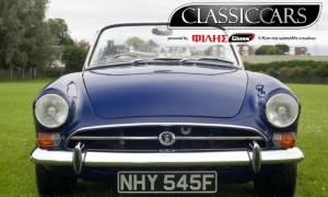 Αφιέρωμα στο Κλασικό Αυτοκίνητο από την ΦΙΛΗΣGLASS® VOL 5: Sunbeam Alpine 1957
