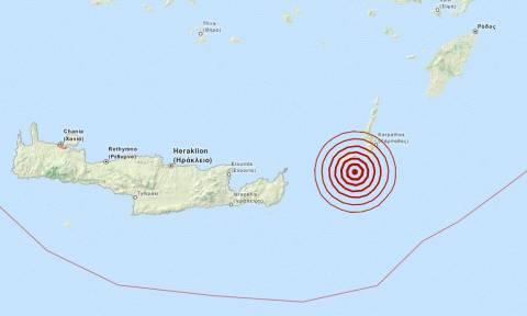 Σεισμός 3,7 Ρίχτερ νότια της Κάσου (pic)