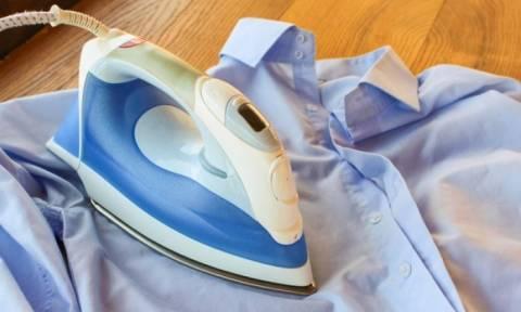 Πώς θα καθαρίσετε το σίδερο από τα άλατα