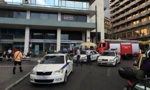 «Συναγερμός» στην ΕΛ.ΑΣ. – Τηλεφώνημα για βόμβα στο υπουργείο Οικονομικών (pics)