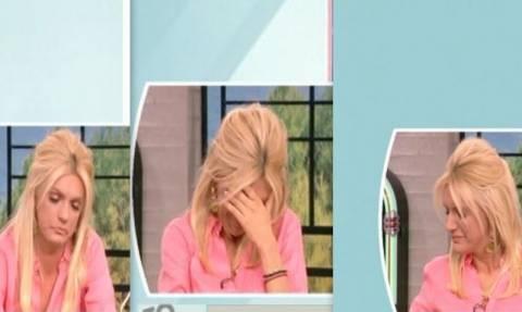 Σάσα Σταμάτη: Έκλαιγε με αναφιλητά on air στο Πρωινό!