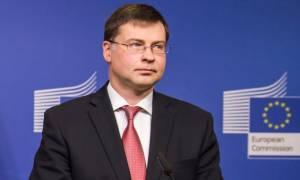 Ντομπρόβσκις: Υπάρχει πρόοδος αλλά απαιτείται δουλειά
