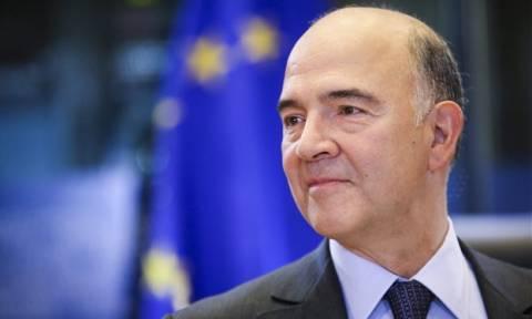 Μοσκοβισί: Δυνατή η επίτευξη συμφωνίας με την Ελλάδα