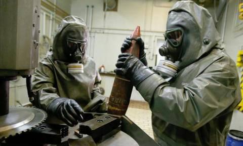 «Το 90% των χημικών όπλων παγκοσμίως έχει καταστραφεί»