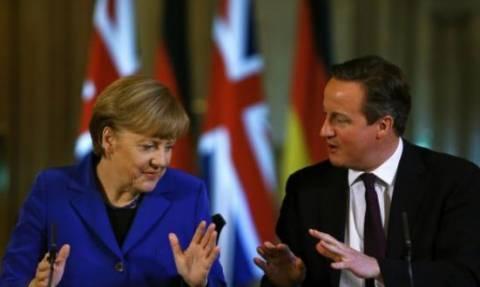Συνάντηση Κάμερον-Μέρκελ με φόντο το βρετανικό δημοψήφισμα