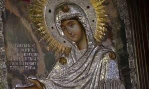 H εικόνα της Παναγίας της Γερόντισσας μέχρι 2/6 στη Λάρισα
