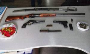 Ηράκλειο: Συλλήψεις για οπλοκατοχή