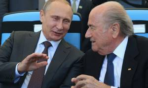 Συγχαρητήρια στον Σεπ Μπλάτερ από τον Βλαντιμίρ Πούτιν
