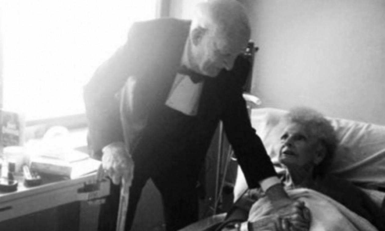 Η αγάπη δεν έχει ημερομηνία λήξης… Δείτε τη συγκινητική ιστορία αυτού του ζευγαριού