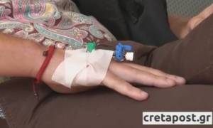 Συγκρατημένα αισιόδοξοι οι γιατροί για τη Ρωσίδα που την «χτύπησε» κεραυνός στην Κνωσό