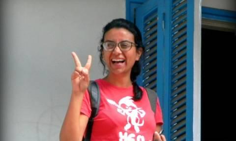 Αίγυπτος: 15 μήνες φυλακή για μία ακτιβίστρια υπέρ των ανθρωπίνων δικαιωμάτων