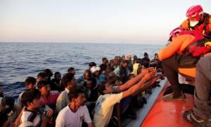 Περισσότεροι από 5.000 μετανάστες διασώθηκαν από την Παρασκευή (29/5) στη Μεσόγειο