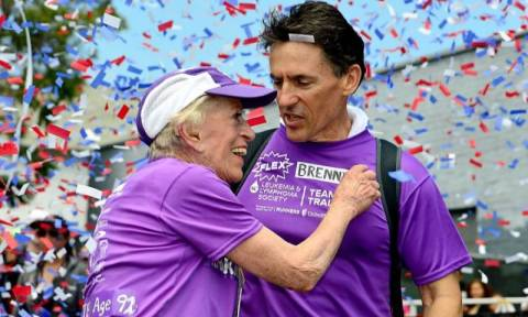 ΗΠΑ: Σε ηλικία 92 ετών τερμάτισε στο Μαραθώνιο (photos)