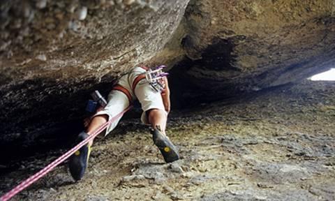Κρήτη: Έκανε μάθημα αναρρίχησης και εγκλωβίστηκε σε βράχο