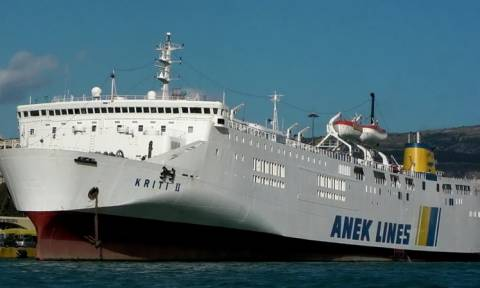 Έληξε η ομηρία επιβάτη στο πλοίο «ΚΡΗΤΗ II» (pic)