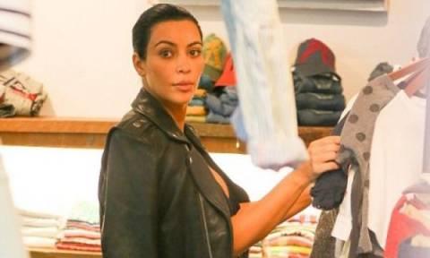 Φαίνεται κοιλίτσα; H πρώτη εμφάνιση της Kim Kardashian μετά την ανακοίνωση της εγκυμοσύνης