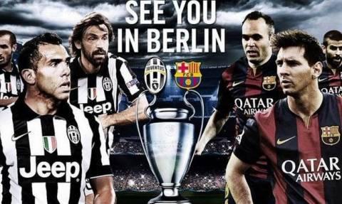 Champions League 2015: Γιουβέντους vs Μπαρτσελόνα (photos+videos)