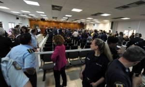 Συνέχεια σήμερα (04/06) στη δίκη της Χρυσής Αυγής στις φυλακές Κορυδαλλού