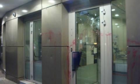 Επιθέσεις κουκουλοφόρων σε υποκαταστήματα τραπεζών της Πάτρας