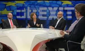 Σουλτς: Οι Έλληνες, όπως ο κύριος Βαρουφάκης, μου σπάνε τα νεύρα