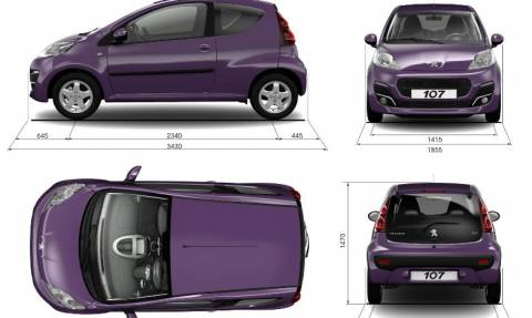 Peugeot: Ανάκληση για 25 Peugeot 107