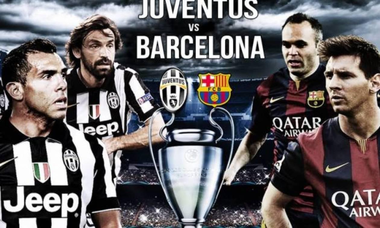 Champions League 2015: 10 λόγοι για να δεις Γιουβέντους-Μπαρτσελόνα!