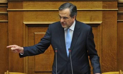 Επανεμφανίστηκε ο Σαμαράς του… Ζαππείου στη Βουλή!