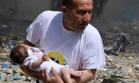 Συρία: Ο ΟΗΕ καταδικάζει τις επιθέσεις με τη χρήση «βαρελιών με εκρηκτικά»