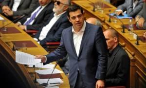 Τσίπρας: Αυτή η κυβέρνηση και η Βουλή δεν θα ψηφίσουν νέο Μνημόνιο