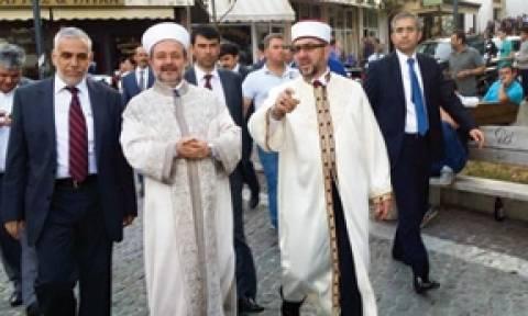 Στη Θράκη ο επικεφαλής της Διεύθυνσης Θρησκευτικών Υποθέσεων της Τουρκίας Μεχμέτ Γκιορμέζ (pics)