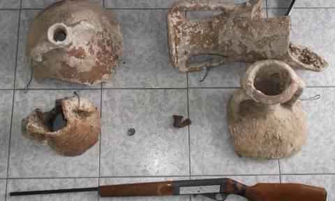 Νέα σύλληψη στην Κρήτη για αρχαιοκαπηλία