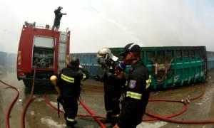 Ασπρόπυργος: «Πλιάτσικο» από Ρομά στο καμμένο εργοστάσιο!