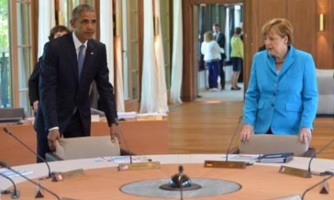 Μέρκελ: Το ελληνικό ζήτημα δεν έχει λυθεί - Ομπάμα: Μην προκληθεί αστάθεια στην οικονομία