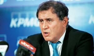 Ρουμπινί: «Η Ελλάδα, ρεαλιστικά, χρειάζεται 30 με 40 δισ. ευρώ, χωρίς νέα μνημόνια»