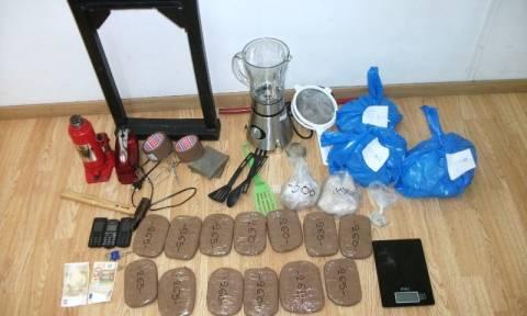 Βρέθηκε εργαστήριο ναρκωτικών στην Καλλιθέα