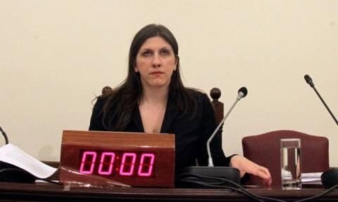 Κωνσταντοπούλου: Καλεί τον Στουρνάρα για τον εξωδικαστικό συμβιβασμό με τη Siemens