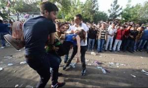 Τουρκία: Και τρίτος νεκρός από τη βομβιστική επίθεση στο Ντιγιάρμπακιρ (videos)
