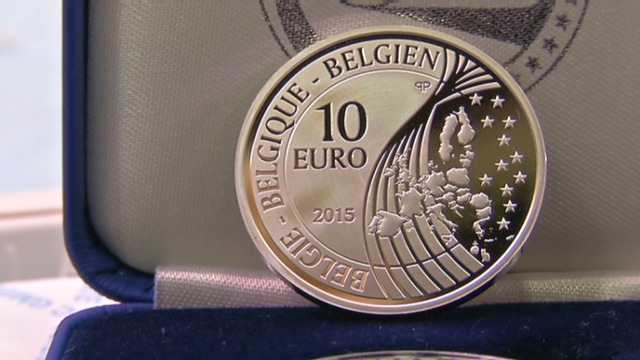 euro coin waterloo